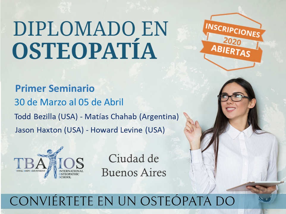 Diplomado en osteopatia